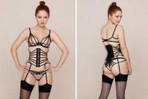 corset style bra
